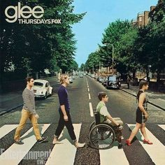 Glee Abbey Road. IN LOVE WITH THIS
