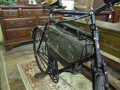 Swiss Army Bicycle Frame Bag