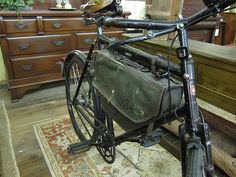 Swiss Army Bicycle Frame Bag