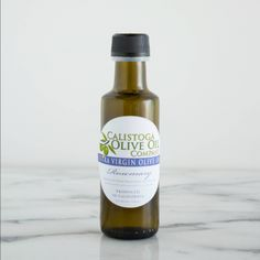SOURCE: Northern California PROFILE: Pure Rosemary. Herbaceous. Earthy. GREAT FOR: Eggs. Roasted Potatoes. Pasta. Grilled Zucchini. Lamb Chops.  INGREDIENTS: Olive Oil, Rosemary