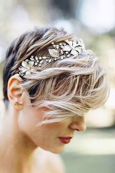 Short Hair Wedding Styles A Beautiful Little Life Perfect Pixie Cuts For Summer  Short