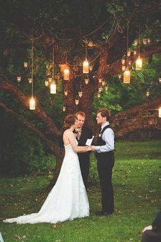 hanging lantern wedding lighting ideas