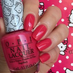 Spoken from the heart - OPI Hello Kitty collection