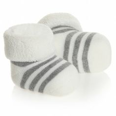 Falke Baby Ivory Stripe Cotton Socks at Childrensalon.com