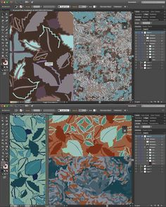 WIP...what do you think about any of these patterns for rugs, wall coverings and other home decor? Any other markets? Contact me if you are interested in my surface pattern designs. See BIO. #surfacepatterndesign #rugs #fabric #texture #color #artanddesign #homedecor #homefurnishings #interiordesign #adobeillustrator #illustration #wallcovering #wallpaper #drapery