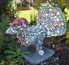 mosaic bird | Flickr - Photo Sharing!