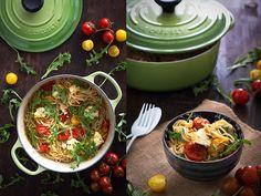 espaguettis de jamie oliver con tomates cherry. Claudia&Julia