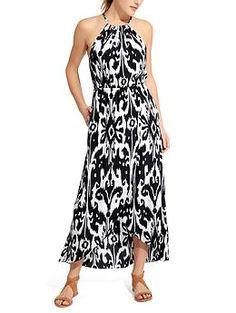 Ikat Bloom Ripple Maxi Dress | Athleta