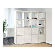 KALLAX Shelving unit, white white 147x147 cm