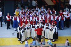 Paznaun aufmarschiert 2009 Kirchenchor Ischgl