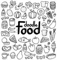 Food doodle ideas