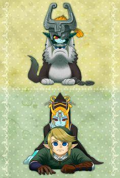 Link et Midona