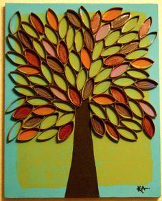 Bekijk de foto van Nel-leke met als titel Een mooie boom,leuk om te maken! en andere inspirerende plaatjes op Welke.nl.