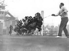 Saltando sul tetto