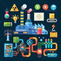 factory vector - Pesquisa Google