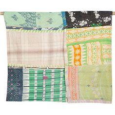 Large Kantha Quilt - Patchwork 47