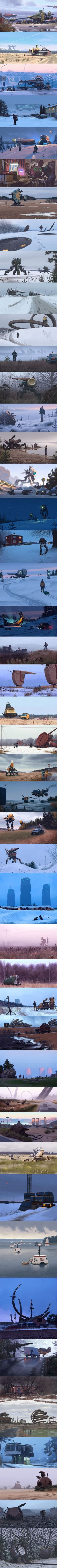 i'd really like to know what's going on in all of these images... is it machine, robot or vehicle... friend or foe... ET or Earth made???