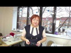 Юбка из бархата Технология пошива Особенности утюжки бархатных тканей часть 3 - YouTube