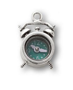 Alarm Clock Charm via Fossil (Macy's) $18