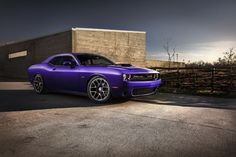 2016 Dodge Challenger Plum Crazy Limited Edition Color Debut