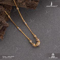 22K Plain Gold Handmade Necklace (11.38 gms) - Fancy Jewellery for Women by Jewelegance (JG-2002-01951)  #myjewelegance #necklace  #plaingoldnecklace  #22kgoldjewellery  #buyjewellery Gold Chain Design, Gold Ring Designs, Fancy Jewellery, Gold Jewellery Design, Gold Bridal Earrings, Gold Necklace, Gold Jewelry Simple, Women Jewelry, Anklets