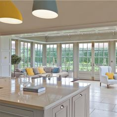 Create a light filled kitchen with a glazed extension and it will be the most popular space in your home.