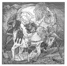 At first glance, István Orosz's illustrations look like ordinary, if vaguely cartoonish, scenes of medieval life. But contained in each scene is a picture of a human skull, if only you know how to look. Image Illusion, Illusion Art, Hans Holbein The Younger, Skull Pictures, Skull Island, Medieval Life, Weird Shapes, Skull And Bones, Memento Mori