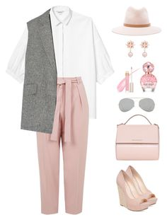 """""""Untitled #316"""" by ycsandjaja on Polyvore featuring Monki, Topshop, Theory, Jessica Simpson, Givenchy, rag & bone, Acne Studios, Stila and Marc Jacobs"""