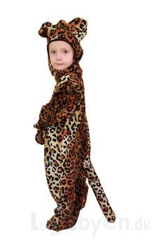 Køb Legedragt - Leopard - 2-3 år. online - Udklædning og Rolleleg