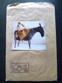 Primitive Horse Pattern by Nettie LaCroix