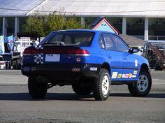 Lifted Subaru