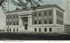 William & Vashti College, Aledo, Ill. (1908-1917)