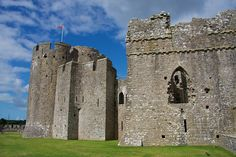 Pembroke Castle, one of the stunning castles you can discover here in Wales:  https://www.qualitycottages.co.uk/aroundwales/wales-top-10-castles/