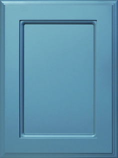Berlin Flat Panel Door  Available Material: MDF Color Shown: Dover Gray Paint Available in All Outside Profiles - Shown with Venice Outside Profile Gray Paint, Face Framing, Custom Cabinetry, Panel Doors, Cabinet Doors, Color Show, Venice, Berlin, Profile