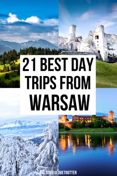21 Day Trips From Warsaw - From fairtytale castles to historic towns, check out 23 Amazing day trips from Warsaw that are possible & see how to plan them. Europe Destinations, Amazing Destinations, European Travel Tips, Travel Tips For Europe, Travelling Europe, Traveling, Cool Places To Visit, Places To Travel, Ukraine