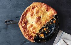 Skillet Chicken Pot Pie with Butternut Squash - Bon Appétit