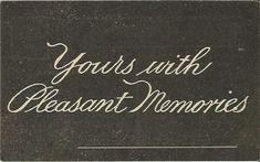 New Listing: #postcard #ephemera #antique #vintage #vintagepaper #etsy #antiquepaper #collectible #antiquepostcard #vintagepostcard  Antique Postcard with Chalkboard Look by postcardsintheattic, $2.99