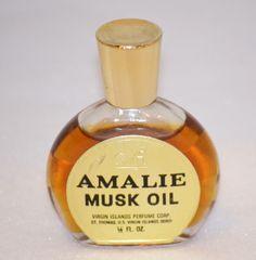 Amalie Musk Oil - Shop Vintage