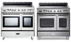 """These all new Verona Fully Electric 36"""" Double Oven Ranges give designers and homeowners even more selection without sacrificing performance!"""