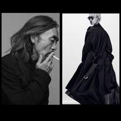 Yohji Yamamoto e la rivisitazione di un #trench
