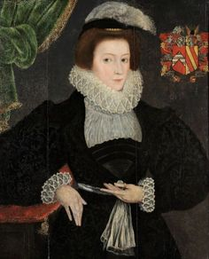 Judith Tracey, Mrs Francis Throckmorton, British School c. 1570-80: