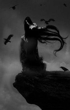 61 Ideas dark art fantasy gothic for 2019 Dark Fantasy Art, Dark Gothic Art, Gothic Artwork, Dark Artwork, Fantasy Kunst, Fantasy Hair, Dark Beauty, Gothic Beauty, Vampires