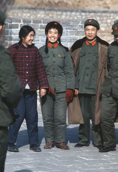 Red army militia, Bejing 1973