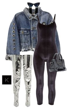 """""""Untitled #4017"""" by kimberlythestylist ❤ liked on Polyvore featuring Lisa Marie Fernandez and Balenciaga"""