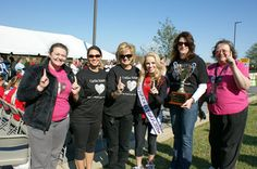 Miss Teen International 2011, Jurnee Carr participates in the Tri-Cities Heart Walk!
