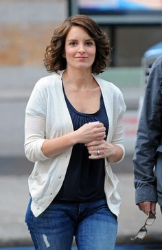 tina fey hair - Google Search