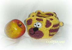 Weiteres - JuLimone Apfeltasche Tiger / Katze - ein Designerstück von contra0815 bei DaWanda