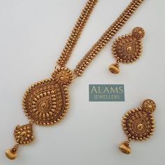 Gold Necklace Set Design With Weight And Price save Jewellery Online On Emi Jewelry Design Earrings, Gold Earrings Designs, Gold Jewellery, Gold Bangles, Jewellery Shops, Silver Jewelry, Gold Ring Designs, Gold Jewelry Simple, Packaging
