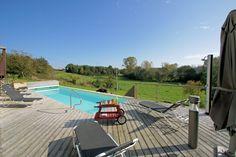 Gîte Petit Paradis: une piscine entièrement privée et chauffée au minimum à 28°