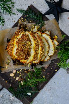 Helstekt blomkål med saffran och pistage | Supermat Easy Lunches For Work, Make Ahead Lunches, Foods To Eat, I Foods, Vegetarian Dinners, Vegetarian Recipes, Food N, Good Food, Xmas Food